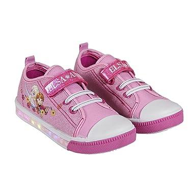 f263f257d8a8a Chaussures Lumineuse La reine des Neiges (ROSE