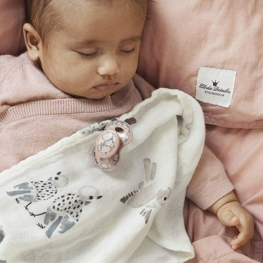 Faded Rose Bells Elodie Details Sucette para Reci/én Nacido 0-6 Meses