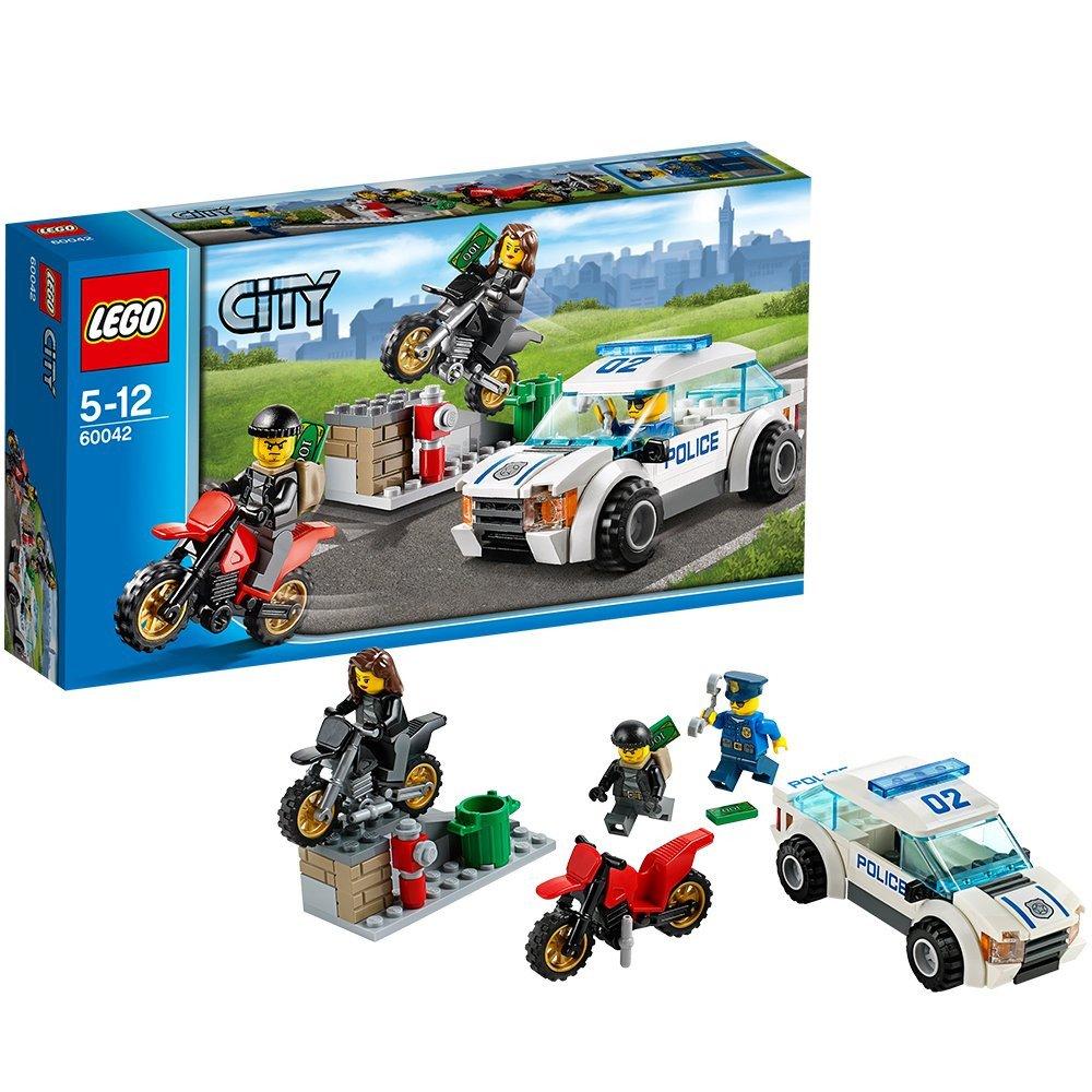 Amazoncom Dubblebla Lego City Police 60042 High Speed Police Chase