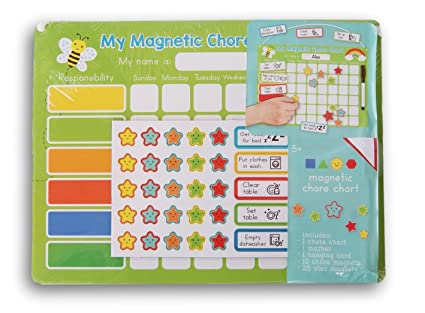 Amazon com magnetic chore chart chore record kit everything else