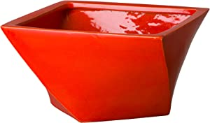 Emissary Home & Garden Coral Twist Bowl, 7