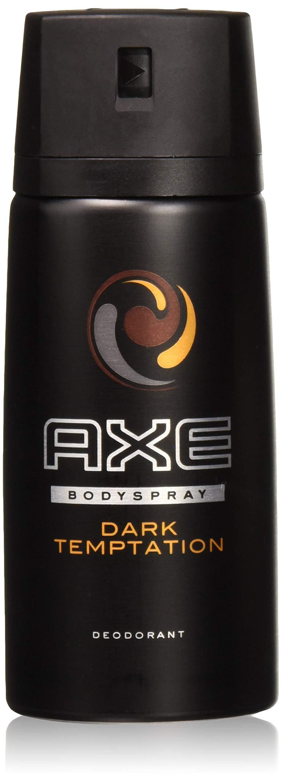 AXE Deodorant Body Spray Dark Temptation 150 Ml / 5.07 Oz (Pack of 6)