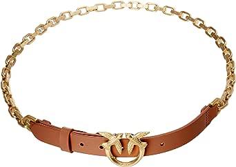 Pinko Anthea Simply Belt Vit.Seta BR Cinturn para Mujer