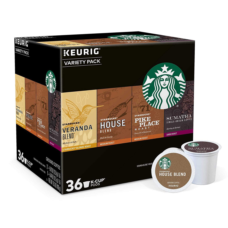 Keurig Starbucks 36-ct. K-Cup Pods Coffee Variety Pack