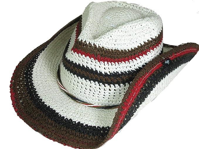 b1b9434d8e2 Amazon.com  Peter Grimm New Classic Amal Western Cowboy Hat  Clothing