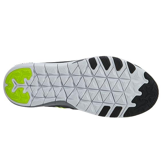 new concept ae17b c93d0 Nike WMNS Free TR 6 Chaussures de Course pour Femme Noir Blanc Jaune   Amazon.fr  Vêtements et accessoires
