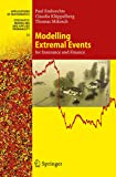 Modelling Extremal Events: for Insurance and Finance (Stochastic Modelling and Applied Probability (33))