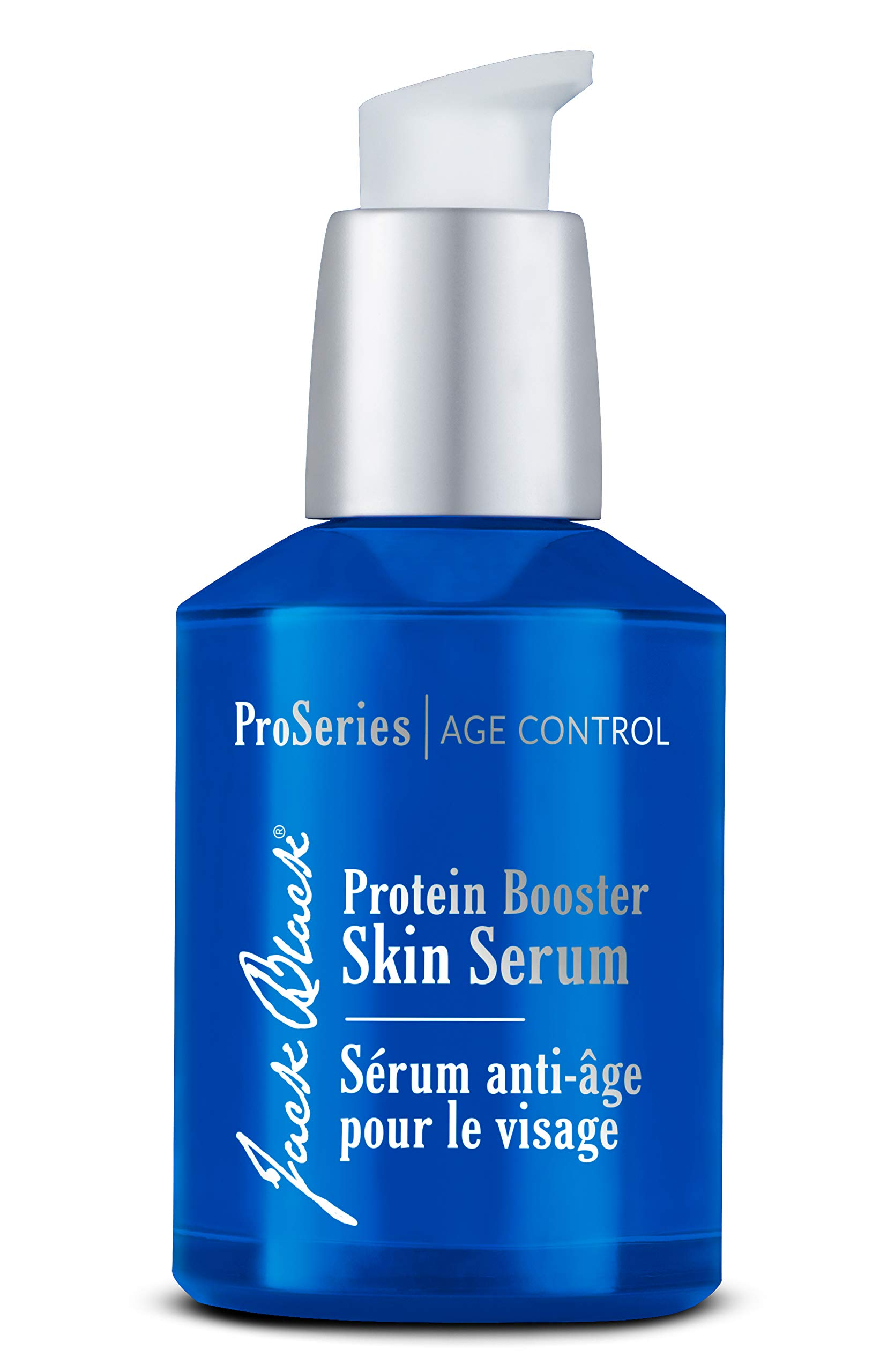 JACK BLACK - Protein Booster Skin Serum - ProSeries Men's Age Specialist Product, Peptides, Antioxidants and Organic Omega-3, Reduces Visible Signs of Aging, Improves Skin Tone, 2 oz by Jack Black