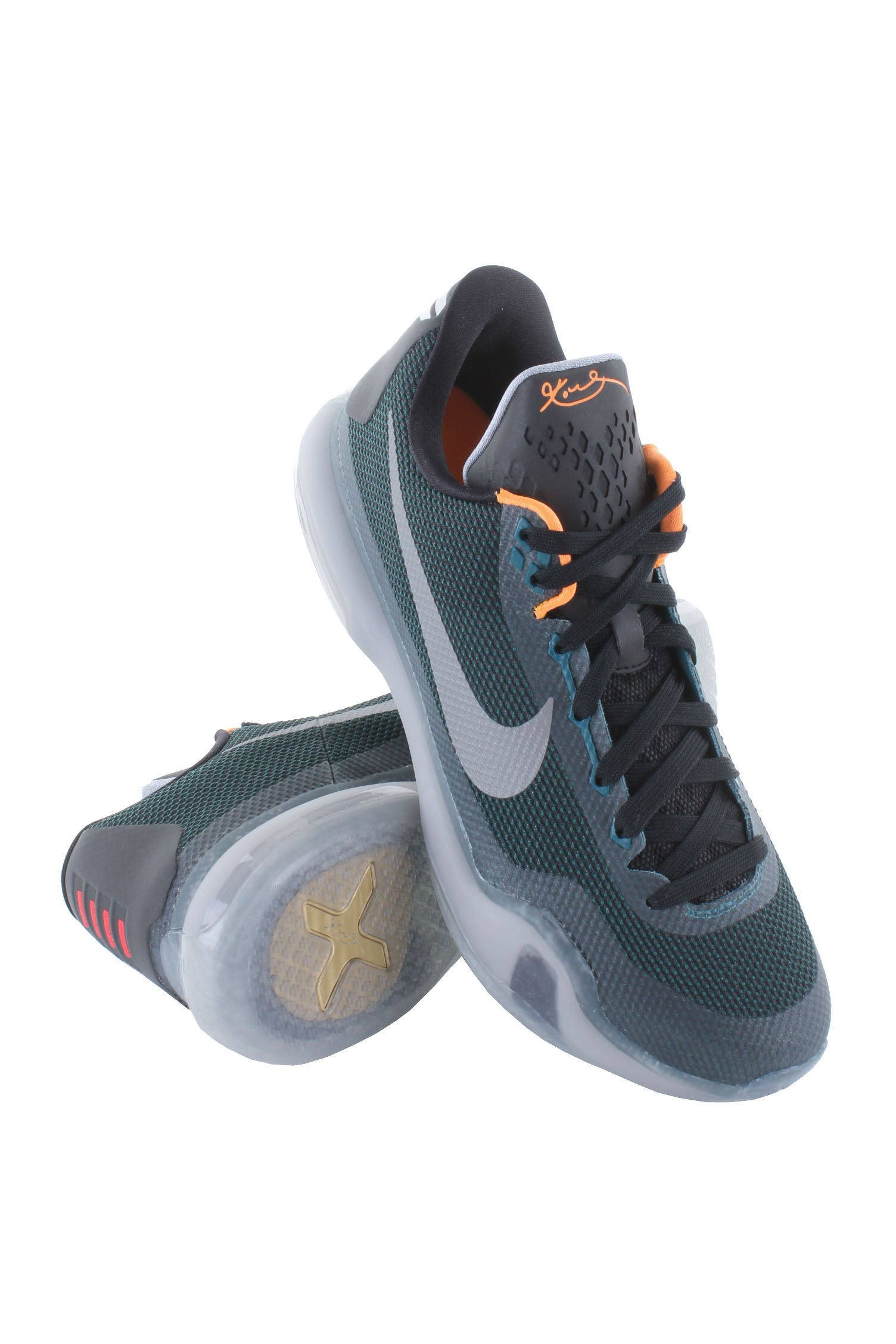 save off c2a1a 44696 Galleon - NIKE Kobe X Men s Basketball Shoes, Teal Reflect Silver-Black-Wolf  Grey, 14 M US