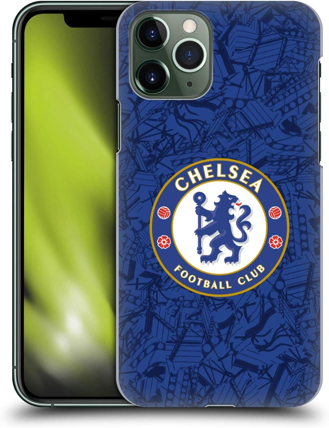 Head Case Designs Officially Licensed Chelsea Football Club Home 2019/20 Kit Hard Back Case Compatible with Apple iPhone 11 Pro