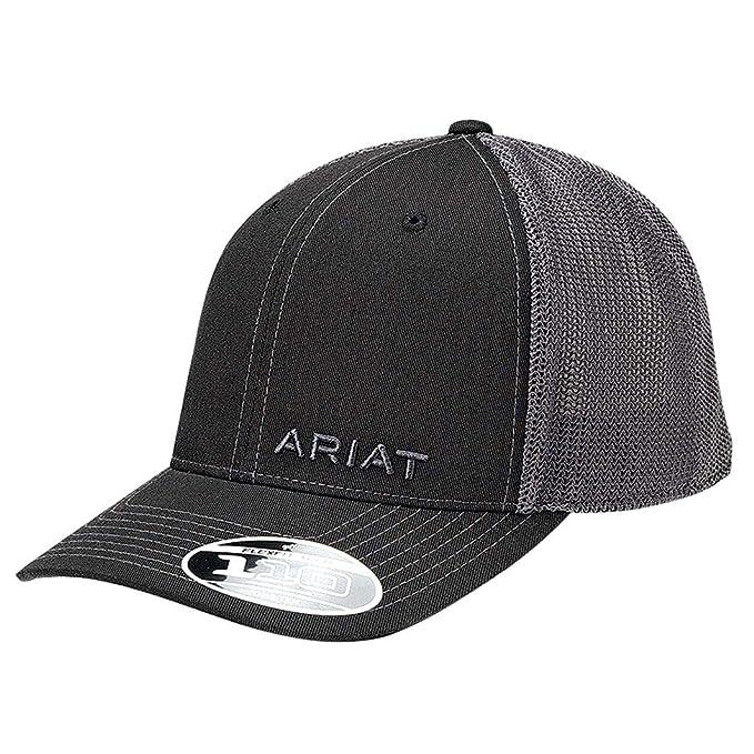 Amazon.com: Marca Ariat de esquina negra sólida para hombre ...
