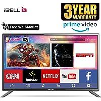 iBELL 98 cm (40 inches) HD Ready Smart LED TV IBLLES401H (Black) (2019 Model)