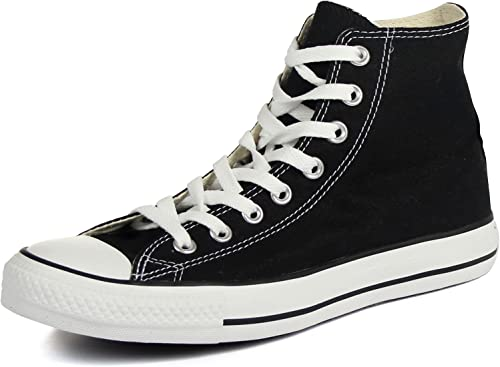 Karmaloop Converse The Chuck Taylor All Star Core Hi Sneaker Black (9 D(M)  US, Black/White)