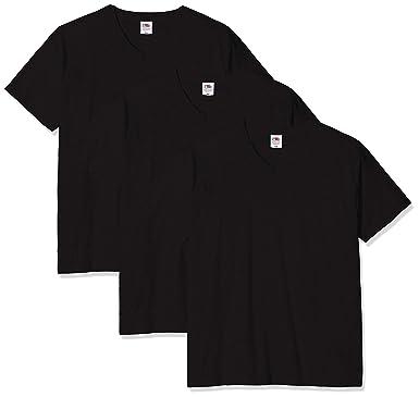 Fruit of the Loom Original V-neck Tee, 3 Pack - Camiseta Hombre ...