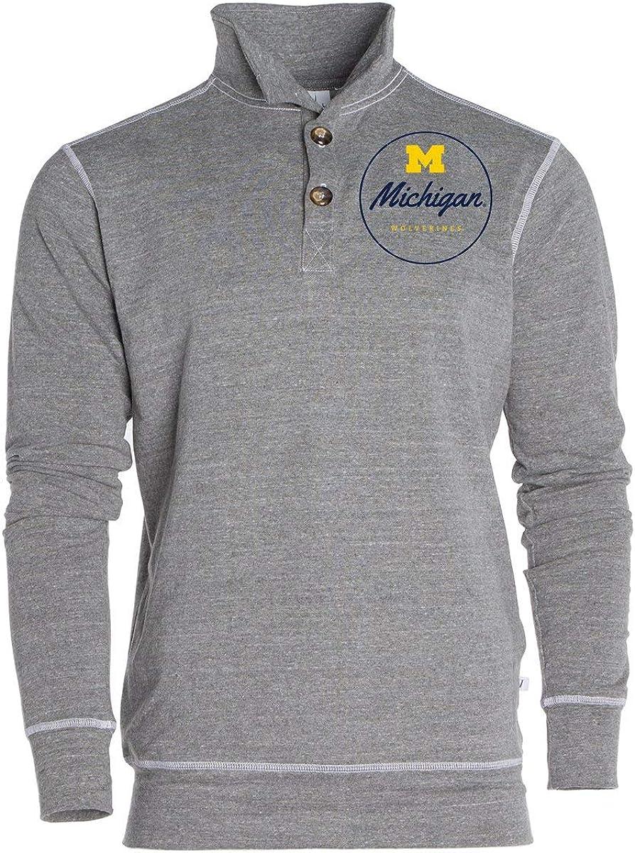 Venley NCAA Michigan Wolverines RYLPST06 Mens//Womens Boyfriend V-Neck Tee