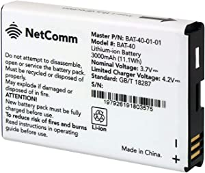 Compatible with NetComm BAT-40 Genuine Standard Rechargeable Lithium-ion Battery