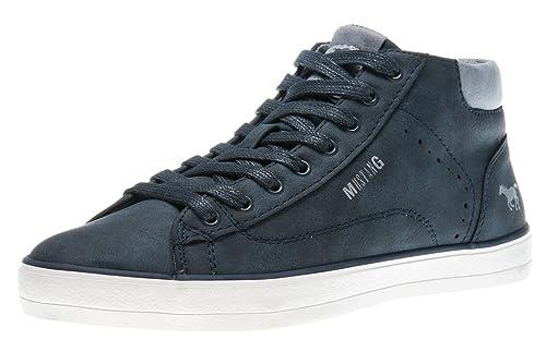 MUSTANG Damen 1267 501 555 Hohe Sneaker