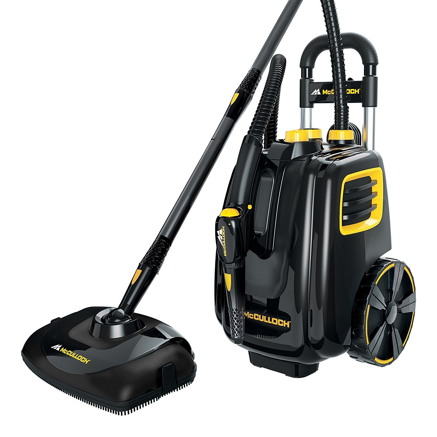 McCulloch Deluxe Canister Deep Clean Multi-Floor Steam Cleaner System | MC1385 by Unknown