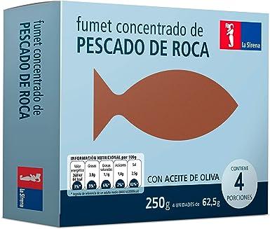 La Sirena Fumet de Pescado de Roca, 250g: Amazon.es ...