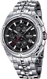 Festina F16881-4 Mens 2015 Chrono Bike Tour De France Silver Watch