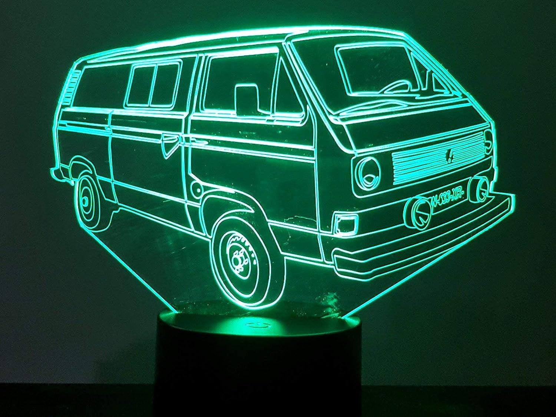 VW Transporter T3, 3D-Lampe LED