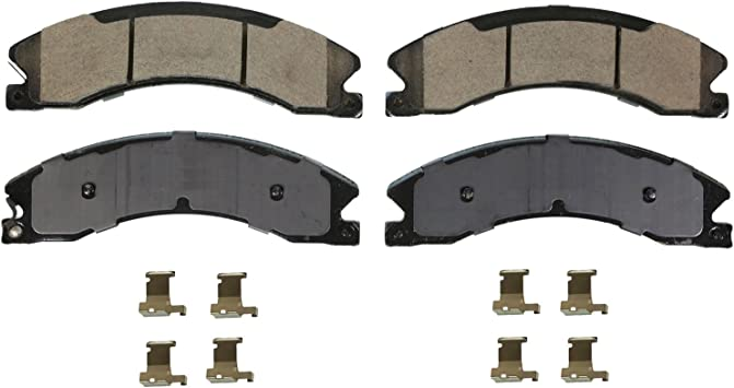 Front Wagner Severe Duty SX1010 Semi-Metallic Disc Pad Set Includes Installation Hardware