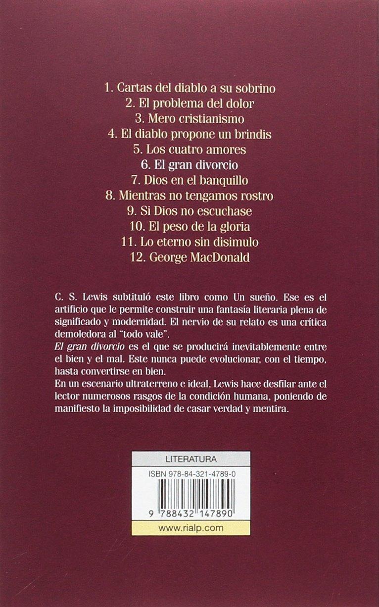 GRAN DIVORCIO: C.S. LEWIS: 9788432147890: Amazon.com: Books