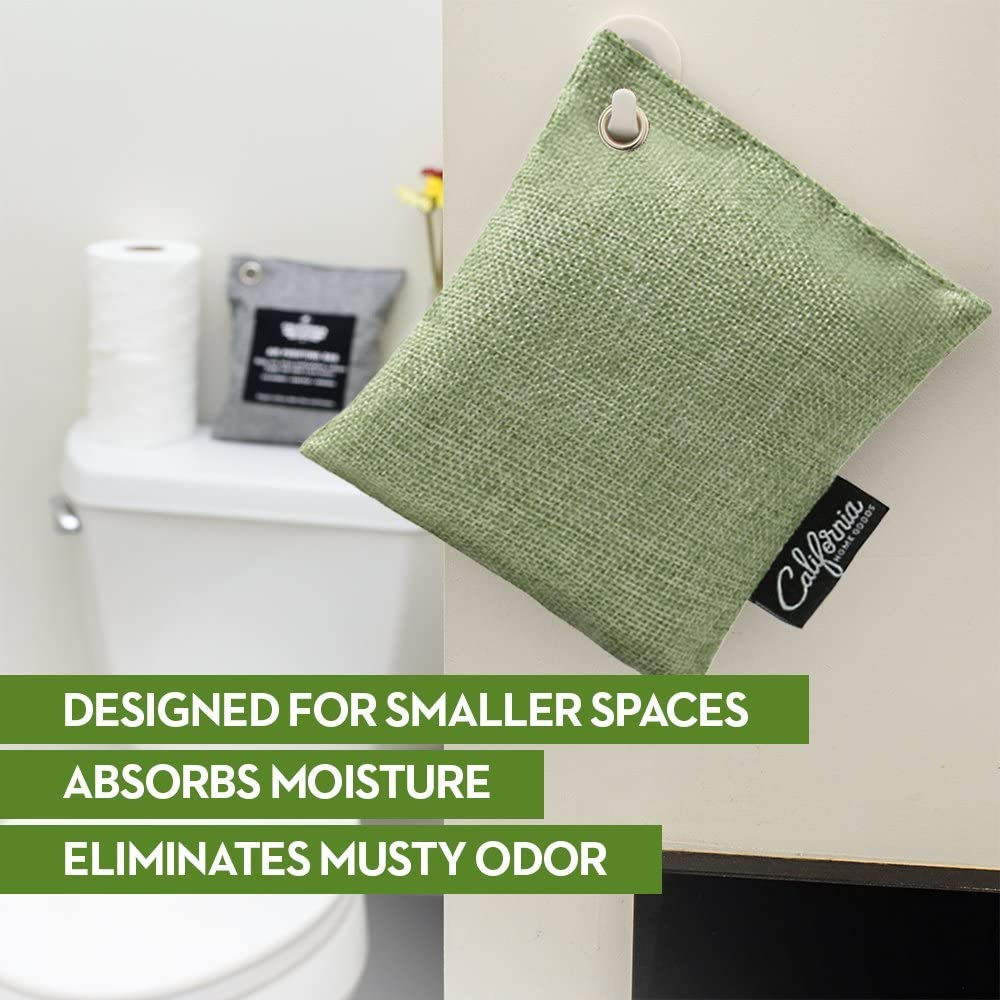 Air Purifying Bags for Home and Car 50-g 100-g and 60-g Natural Odor Absorber Bags Included 9-Pack Activated Bamboo Charcoal Bags Green Charcoal Deodorizer Bags for Big /& Small Spaces