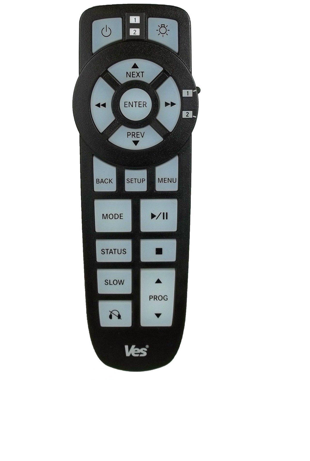 Dodge Chrysler Jeep VES Entertainemtn DVD Remote Control