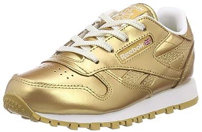 Reebok Unisex Baby Classic Leather Metallic Sneaker: Amazon