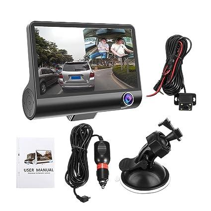 """4"""" Full HD 1080P 170 Wide View Degree 3 Lentes Auto DVR Dash CAM Grabador"""