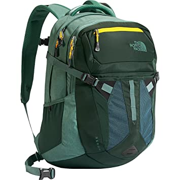 The North Face - Recon - Mochila Mixta, Color Darkst Spruce/Silver Pine Green Heather, tamaño Talla única: Amazon.es: Deportes y aire libre