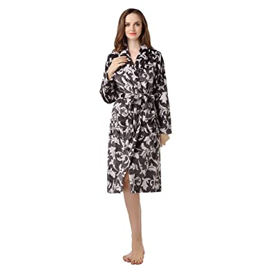 Paño grueso y suave caliente Richie Casa de la Mujer Albornoz Bata RHW2319-A-S: Amazon.es: Ropa y accesorios