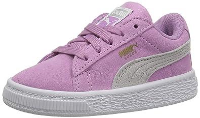 PUMA Girls  Suede Classic INF Sneaker 309425404