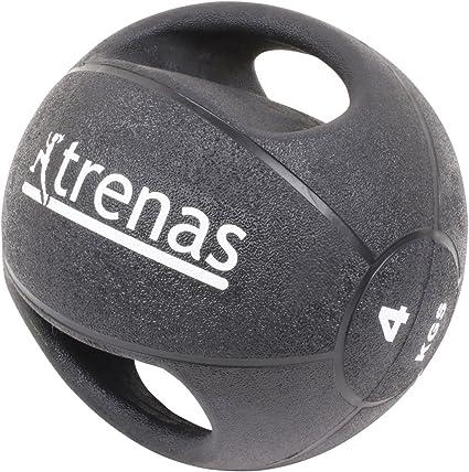 trenas Pro Balón Medicinal con Asas – 4 kg: Amazon.es: Deportes y ...