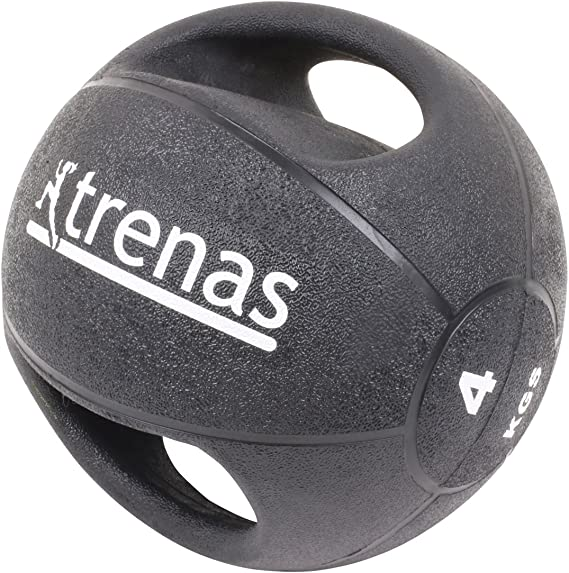 trenas Pro Balón Medicinal con Asas – 5 kg: Amazon.es: Deportes y ...