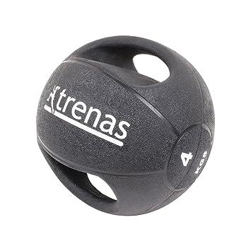trenas Pro Balón Medicinal con Asas - 4 kg: Amazon.es: Deportes y ...