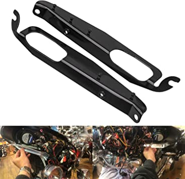 Heavy Duty Batwing Front Inner Fairing Support Brackets For Harley Touring Road King Electra Glide Street Glide Road Glide FLHR FLH FLHX FLTRX 1993-2013