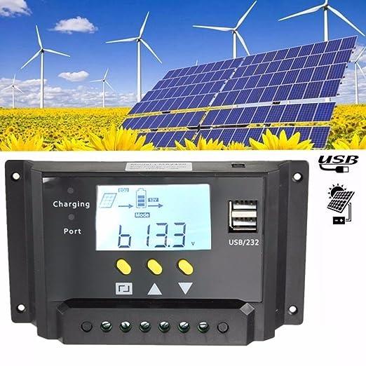 4 opinioni per MOHOO Pannello LCD 20A PWM Solar regolatore di carica controller 12V / 24V 360W