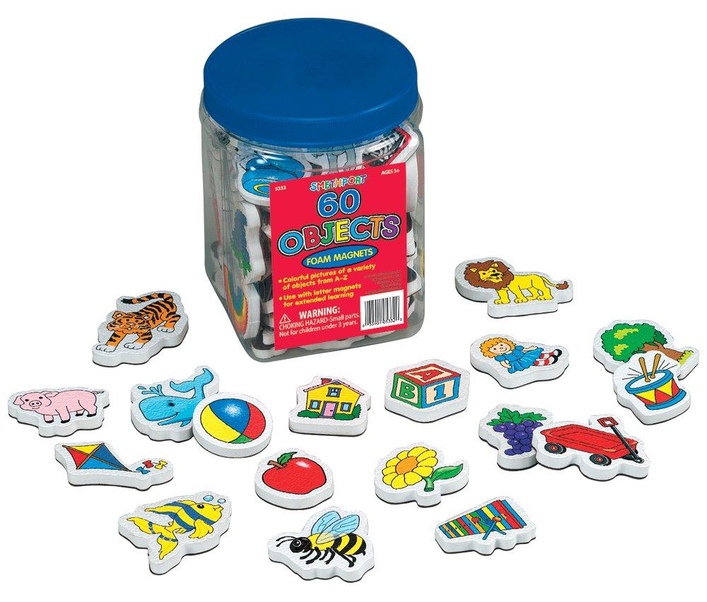 Lauri Foam Magnets - Objects by PlayMonster