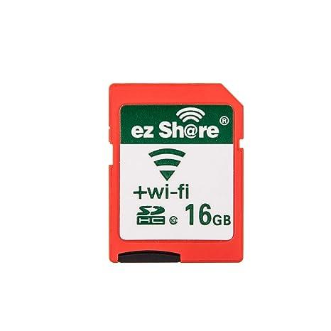 ezshare clase 10 tarjeta SD de 16 GB con adaptador y 90 días ...