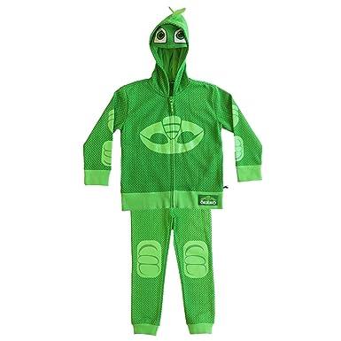 PJ MASKS Boys Toddler Gecko Hoodie and Jogger Set, Green, ...