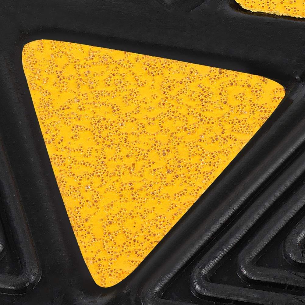 rampa de goma rampa de bordillo 2 rampas de goma negras rampa de bordillos port/átil para coches caravanas o sillas de ruedas. rampa para silla de ruedas