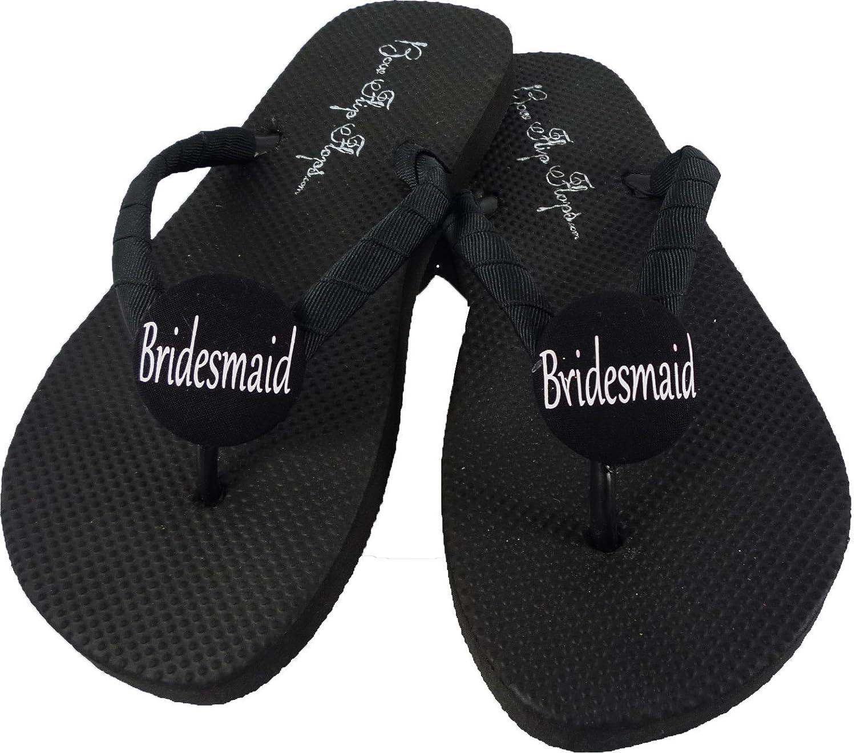 d8d9ef328cbd7 Amazon.com  Customizable Bridesmaid Flip Flops