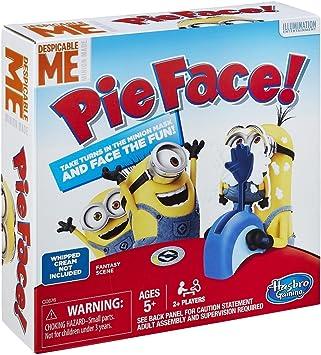 Pie Face Minions de Hasbro.: Amazon.es: Juguetes y juegos