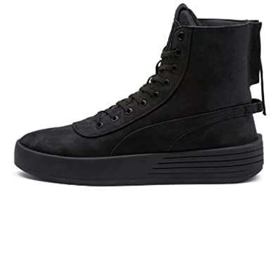 043f1de951d9d PUMA Men's Xo Parallel High-Top Leather Fashion Sneaker