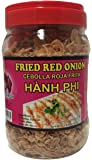 Peacock Brand Fried Red Onions (Hanh Phi) - Premium Quality - Includes Spoon for Easy Use