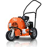 SuperHandy Leaf Blower Ultra Duty Wheeled Walk Behind Jet Sweep Manual-Propelled Powerful 7HP 212cc 4 Stroke OHV Motor…