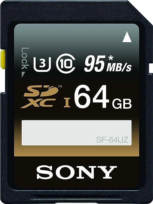 Sony SF64UZ/TQN Memoria Flash 64 GB SDXC Clase 10 UHS-I - Tarjeta ...
