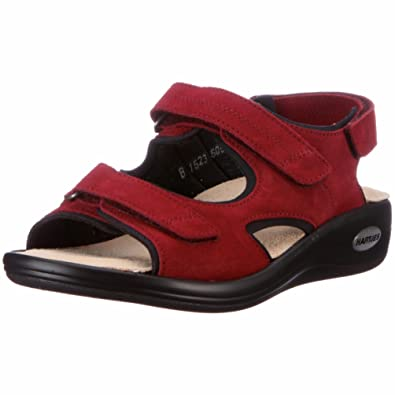 HARTJES 50532 Outdoor Sandals Womens Red Rot flame Size  4.5 (37 EU ... 571675173b
